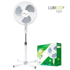 Ventilador pie 45W 40cm Lumeco Light EDM