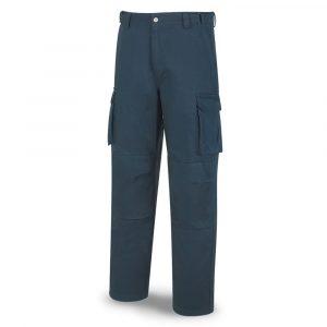 Pantalón con forro polar especialista franela azul marino T 38 - 60