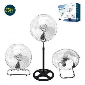 Ventilador Industrial de pie 50cm 90W 3 en 1 EDM