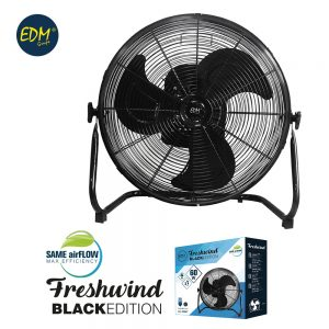 Ventilador industrial oscilante 40cm 60w black series c/temp EDM