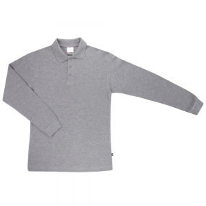 Polo manga larga Velilla XL Gris
