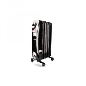 Radiador Eléctrico sin Aceite Black Edition 1000W