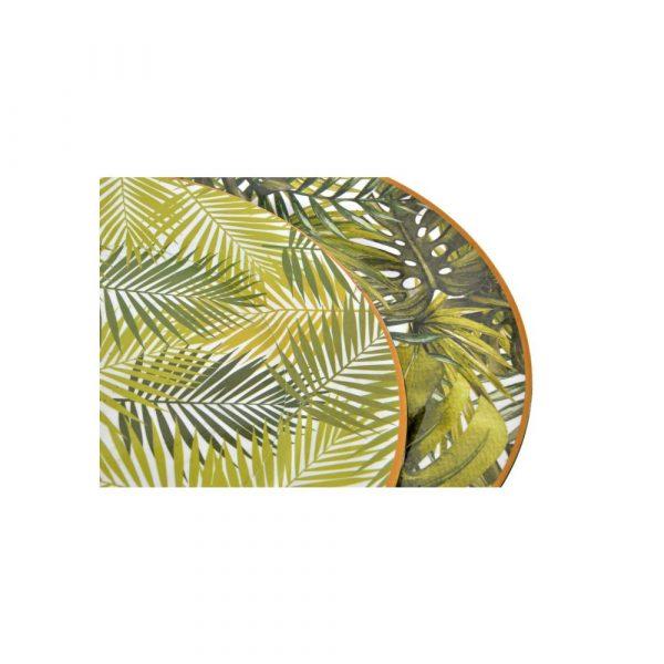 Bajoplato Dorado Tropical Item