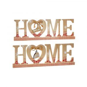 Letras Home Madera Navidad Item
