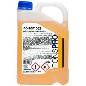 Desengrasante Industrial Ponkit Des Higienizante Asevi